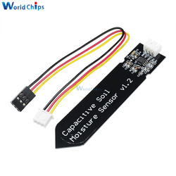 Kapazitive Boden Feuchtigkeit Sensor Modul Nicht Einfach zu Korrodieren Breite Spannung Draht 3,3 ~ 5,5 V Korrosion Beständig W/ schwerkraft für Arduino