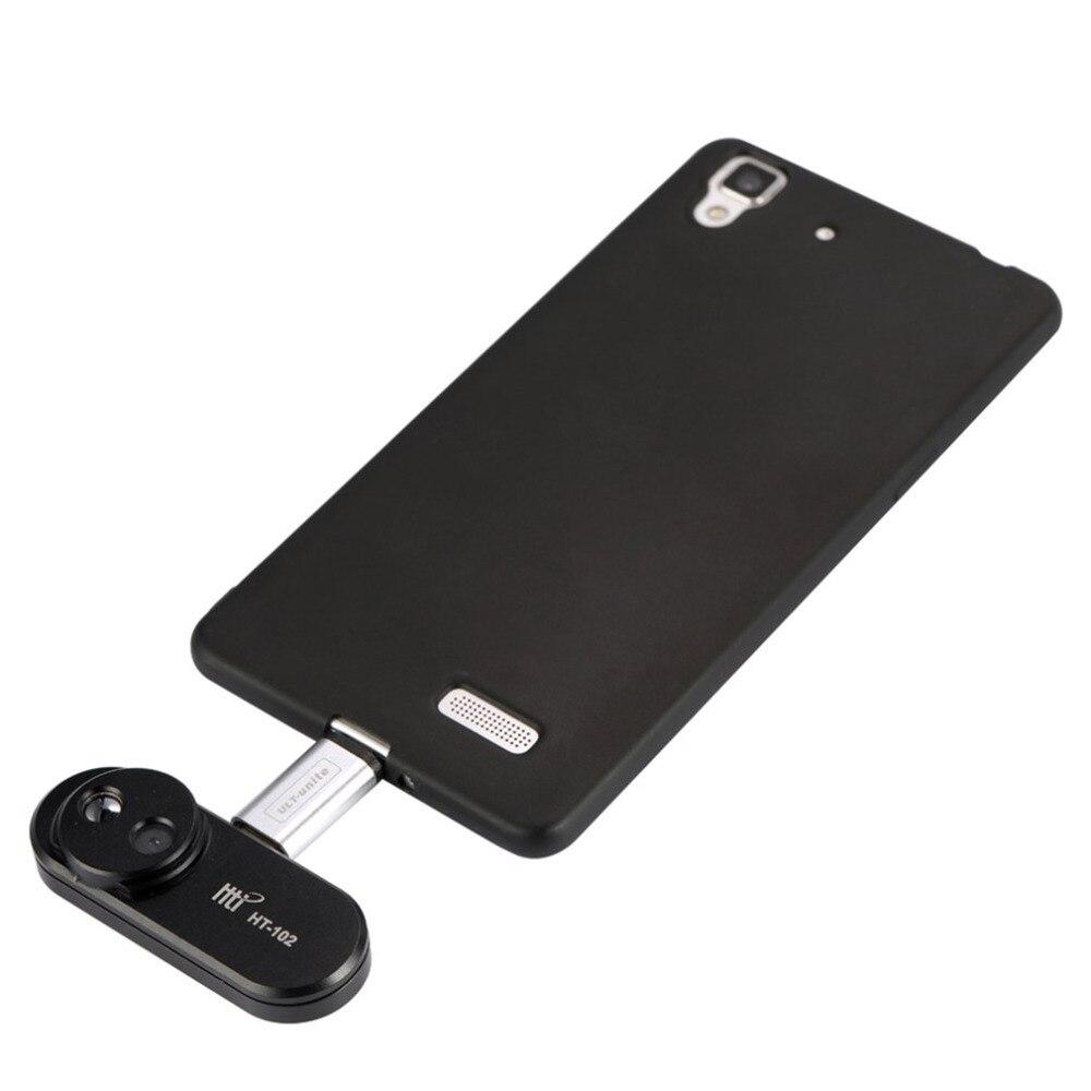 HT-102 мобильный телефон внешний Инфракрасный Тепловизор инфракрасный Камера термометр Android телефон OTG функция с адаптером