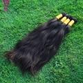 8A 300g Natural Peruvian Virgin Hair Bulk Human Hair Wholesale 100% Unprocessed Remy Hair No Weft Human Hair Bulk For Braiding