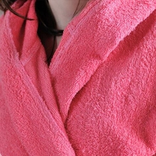 Fleece Cotton Hooded Bathrobe Men/Women