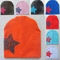 Unisex Toddler Beanie Baby Hat Stars Printed Soft Warm Cotton Girl Boy Beanie Cap