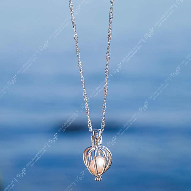 DAIMI ยอดนิยมของขวัญผู้ถือกรง WISH กล่อง WISH Pearl จี้สร้อยคอสำหรับความรักธรรมชาติหอยนางรมกล่องสำหรับวันวาเลนไทน์ของขวัญวัน