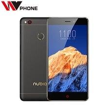 """Original Nubia MTK6755 de N1 Teléfono Móvil LTE Octa Core 5.5 """"1080 P 3G Ram 64 GB ROM 13.0MP Trasero Grande de La Batería 5000 mAh de IDENTIFICACIÓN de Huellas Dactilares"""