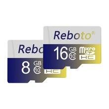 Reboto Memory card 32GB class 10 micro sd card 16GB 64GB MicroSD Card 4GB 8GB TF flash USB Card for mobile phone