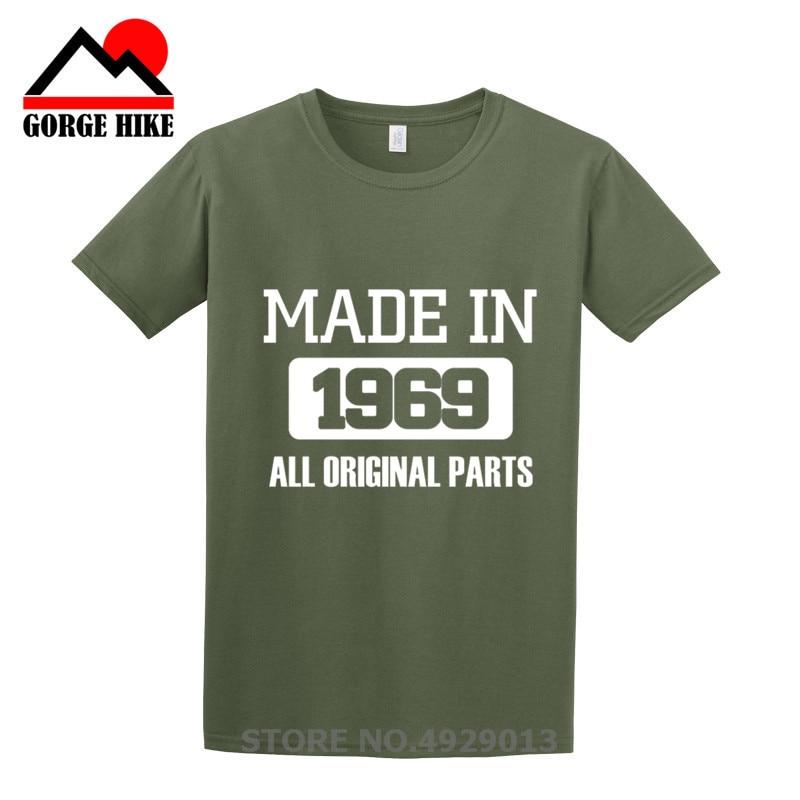 Hombre Camiseta Años Tamaño Hecha Ropa 2019 De Camisetas Cumpleaños Para En Moda Mayor 1969 50 y8wOnmvN0P