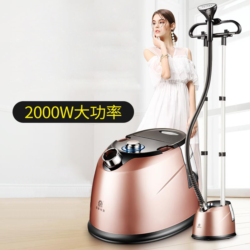 double bar steam hand held hanging machine home high power small hanging vertical iron ironing machine S X 3337A in Garment Steamers from Home Appliances