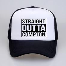 Hot Sale Straight Outta Compton Baseball caps Man Women Popular summer high quality Mesh Cap hat