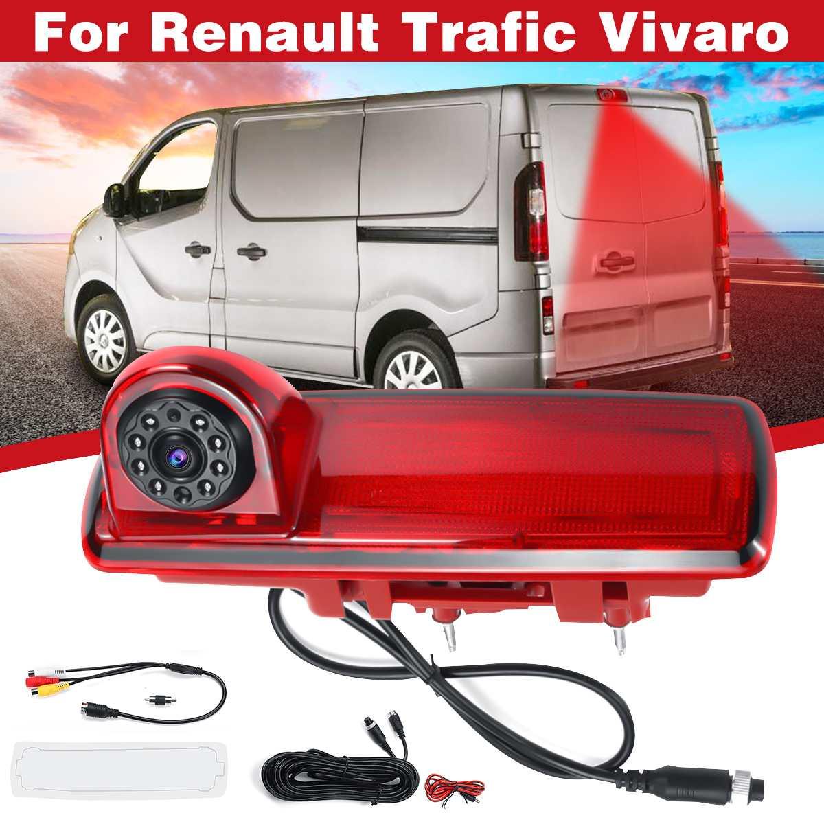Reversing Backup Brake Light Camera Waterproof For Renault Traffic Vivaro CustomReversing Backup Brake Light Camera Waterproof For Renault Traffic Vivaro Custom