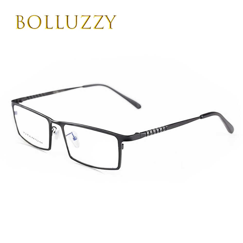 man fashion brand designer titanium myopia prescription luxury glasses frame full rim eye glass frame eye