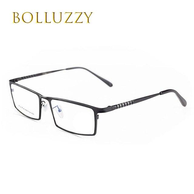 91a6033f04e Homme marque de mode designer titane myopie prescription luxe lunettes full  frame rim lunettes cadre des