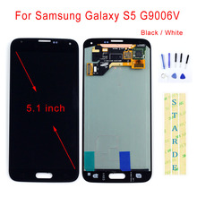 STARDE Replacement LCD For Samsung Galaxy S5 G9006V LCD Display Touch Screen Digitizer Assembly 5.1