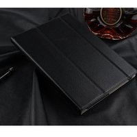 Genuine Leather With Magnetic Stand PU Leather Cover Shell For Lenovo Tab 4 10 TB