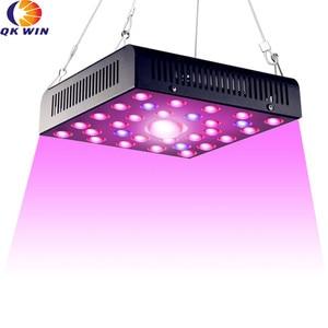Германия доставка Qkwin high end COB LED GROW LIGHT 600 Вт настоящий 110 Вт cree COB свет и двойной чип led полный спектр с двумя объективами