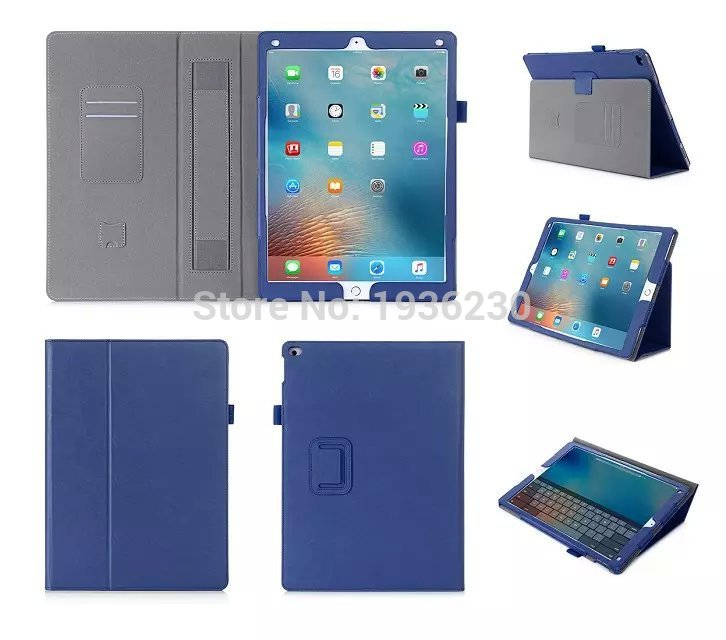Smart Flip Cover Leather case For Apple iPad Pro 12.9 12.9 2017 Tablet Case PU Leather Case with Hand Holder and Card Slot 2016 new pad pro 9 7 flip cover for apple ipad mini pro 9 7 tablet case pu leather case hand holder card slot