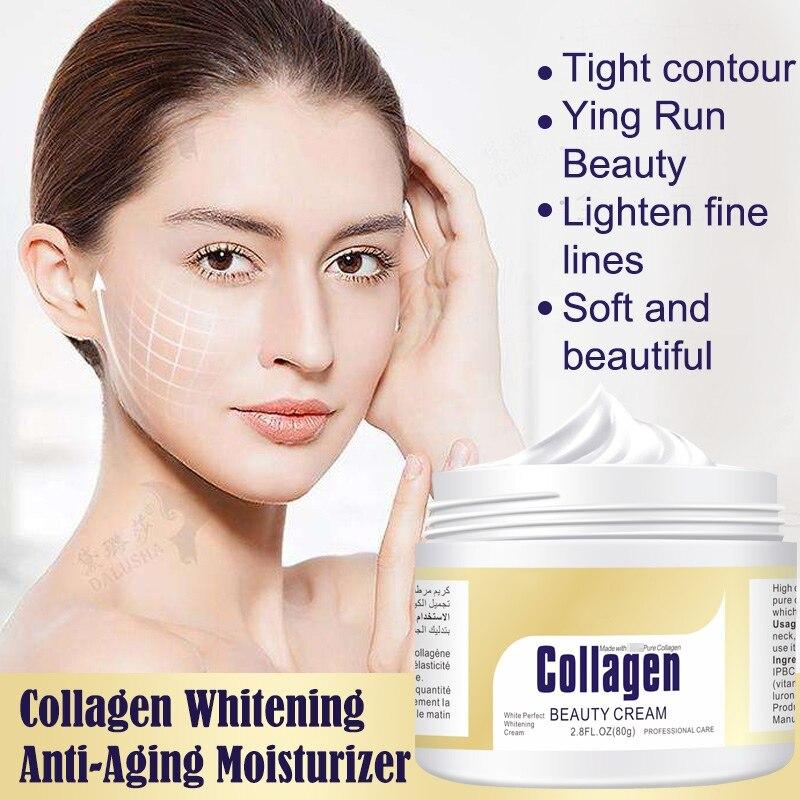 Collagen Power Lifting Cream Face Cream Skin Care Whitening moisturizing Anti-aging Anti Wrinkle Korean Facial CreamCollagen Power Lifting Cream Face Cream Skin Care Whitening moisturizing Anti-aging Anti Wrinkle Korean Facial Cream