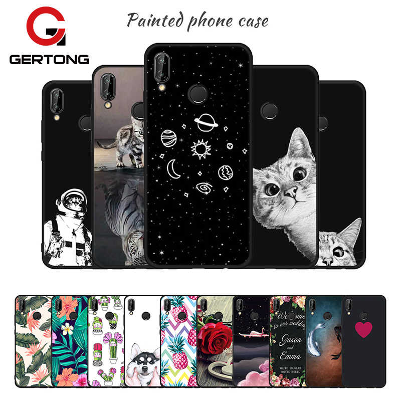 Soft TPU Pattern Phone Case For Huawei P20 Plus P10 P9 P8 Lite 2017 Mate 10 Lite Pro Nova 2i Y9 2018 Cover For Honor 9 8 Lite 9i