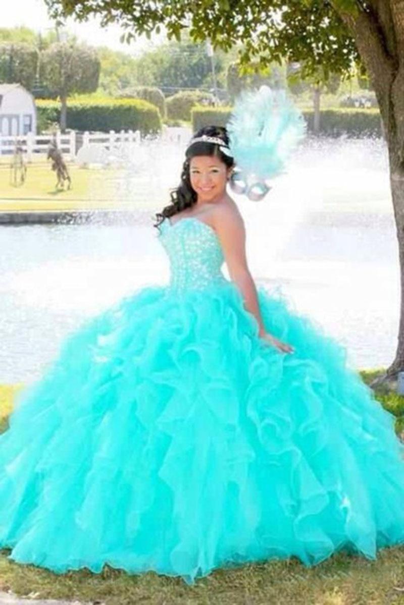 Online Get Cheap Teal Blue Ball Dresses -Aliexpress.com | Alibaba ...