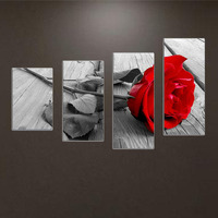 DIY 5D Diamond Painting Red Rose Embroider Cross Stitch Kit Craft Home Decor 88 52cm