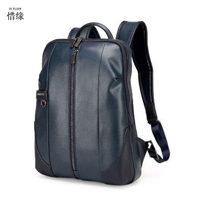 XIYUAN новый большой рюкзак для путешествий подростков школьная книга Сумка из воловьей кожи Натуральная кожа Мужская сумка для отдыха мужски...