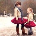 Буэнос-Ниньо Мода Пачки Юбки Baby Девушки Пушистый Шифон Pettiskirt Для 1-10 Y
