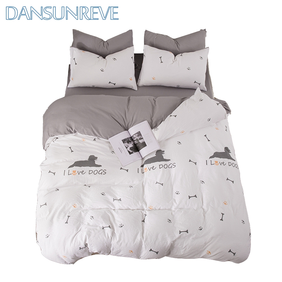 Dog Print Bedding Animal Bedding Bed Cover On Sale Dog