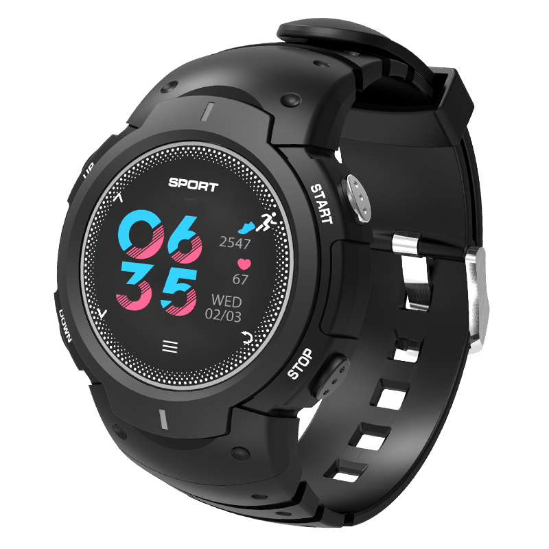 Smart watch F13 Tempered glass Activity Fitness tracker Heart rate monitor IP67 waterproof Sports Men Women