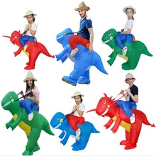 Blow Up Unicorn Cosplay 2019 Party costume for Adult Kids Inflatable Dinosaur Costumes Halloween Costume Mascot Funny