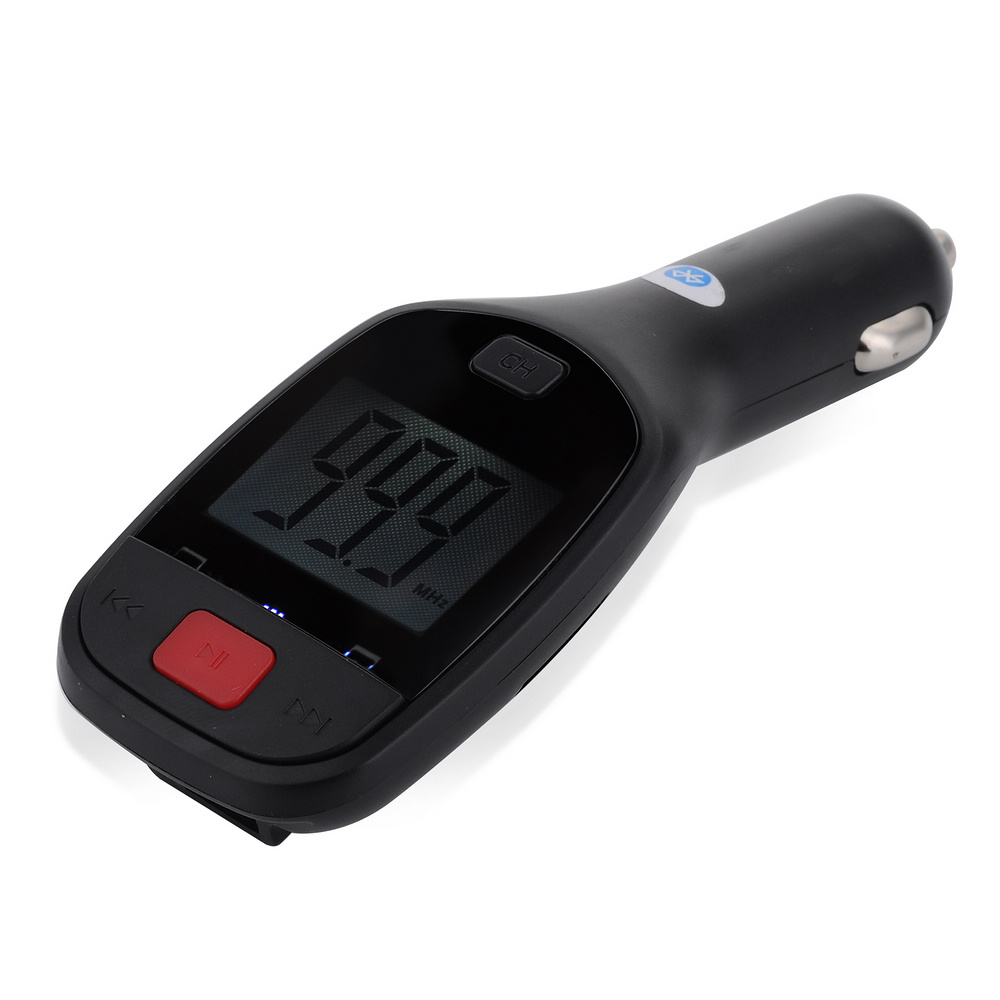 In Car Wireless Bluetooth FM Transmitter with USB Car