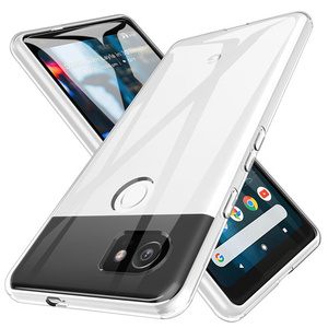 Image 1 - Shockproof Full Protection Phone Case For Google Pixel 2 3 3a 4 XL Crystal Soft Silicon Coque for Google Pixel XL 2 Pixel3 Cover