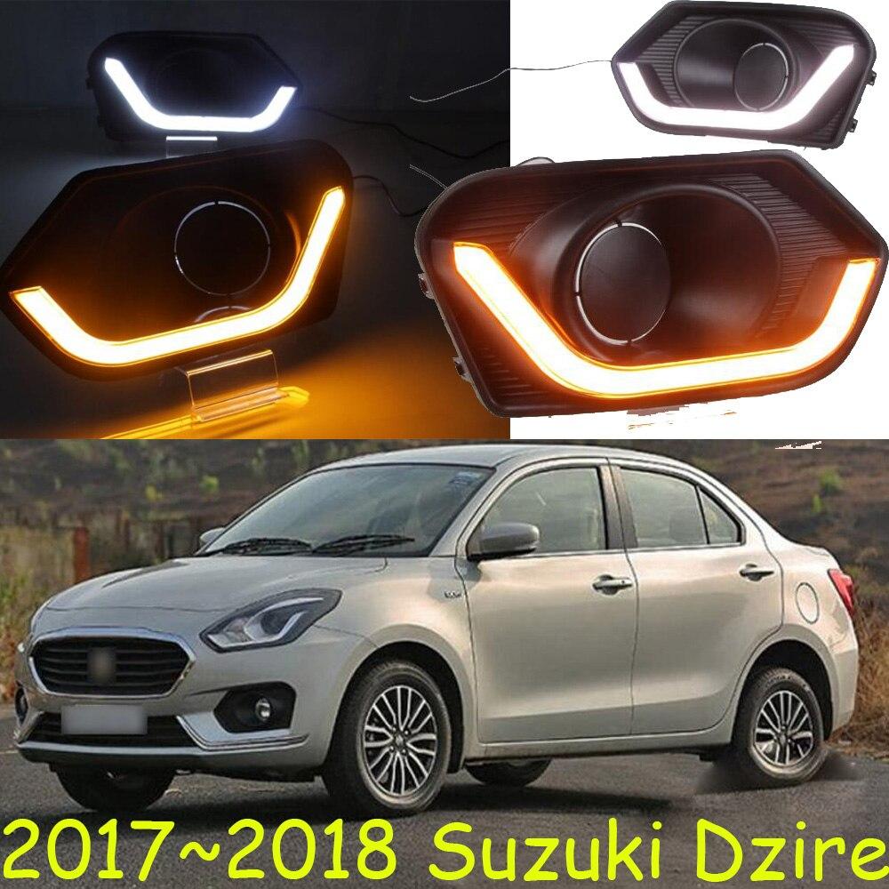Dzire daytime light,LED,2017~2018 ,car accessories,Dzire fog light,Free ship!car styling,Kizashi,S-Cross,sx4,LED,Dzire headlight