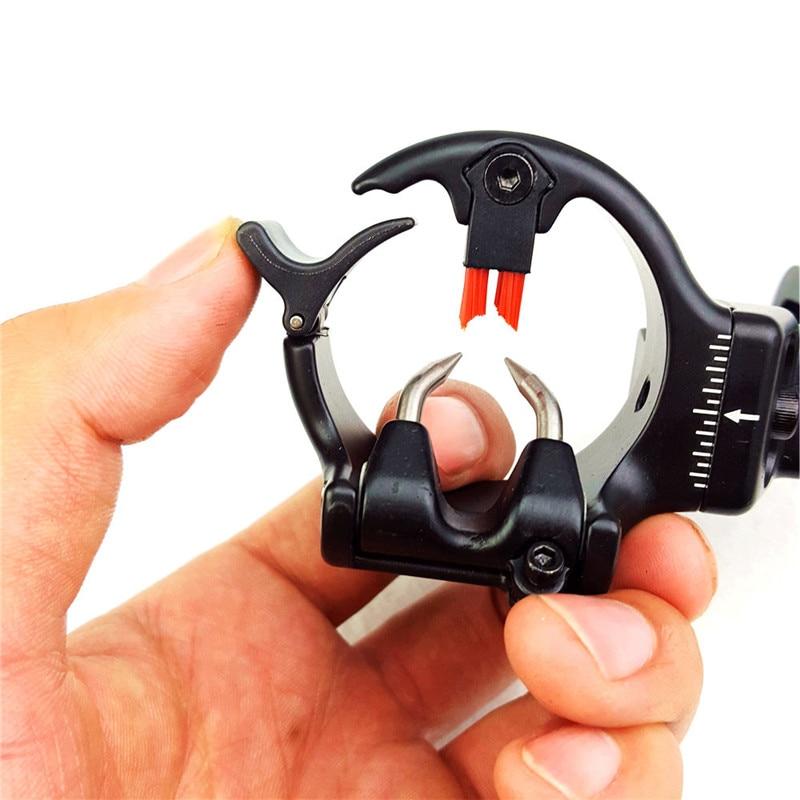 Boogschieten Pijlsteun Micro Verstelbaar Opvangpenseel Rechterhand - Jacht - Foto 2