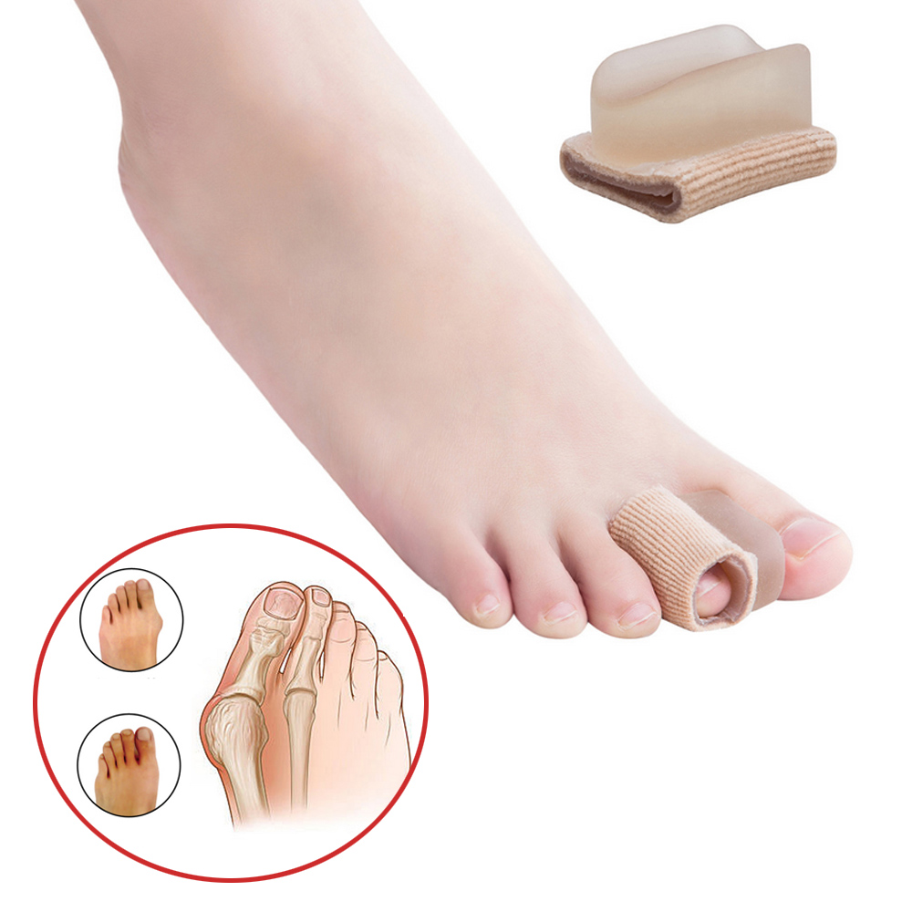 2pcs Bunion Toe Separator Foot Care Tool Gel Hallux Valgus