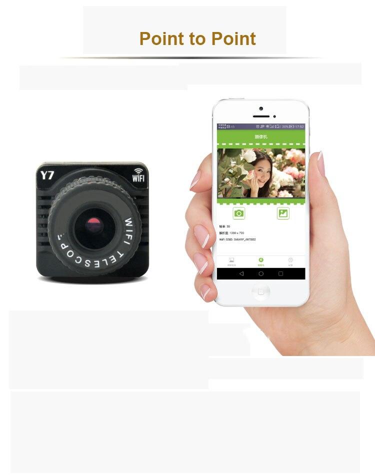 Contrôle APP enregistreur vidéo sans fil 50x jumelles numériques WiFi caméscope P2P 50X Zoom Mini caméra - 3