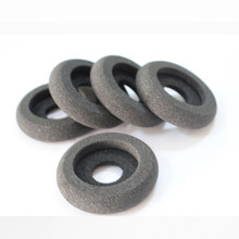 55mm Donut Headphone replacement foam sponge pads Call center headphone ear Free shipping by mail