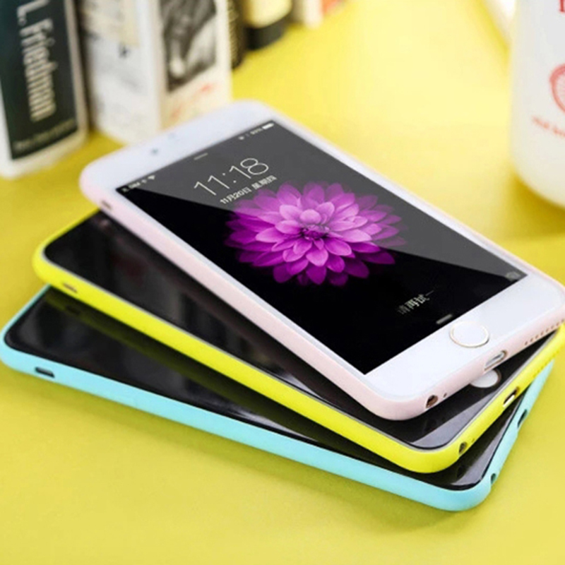 Soft Silicone Candy Color Phone Cover Shell Made Of Imported TPU Material For iPhone 5