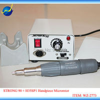 New 35K RPM Polishing Unit Strong 90 SDE H35SP1Handpiece Kit Electric Hand Micro Motor Fit MARATHON