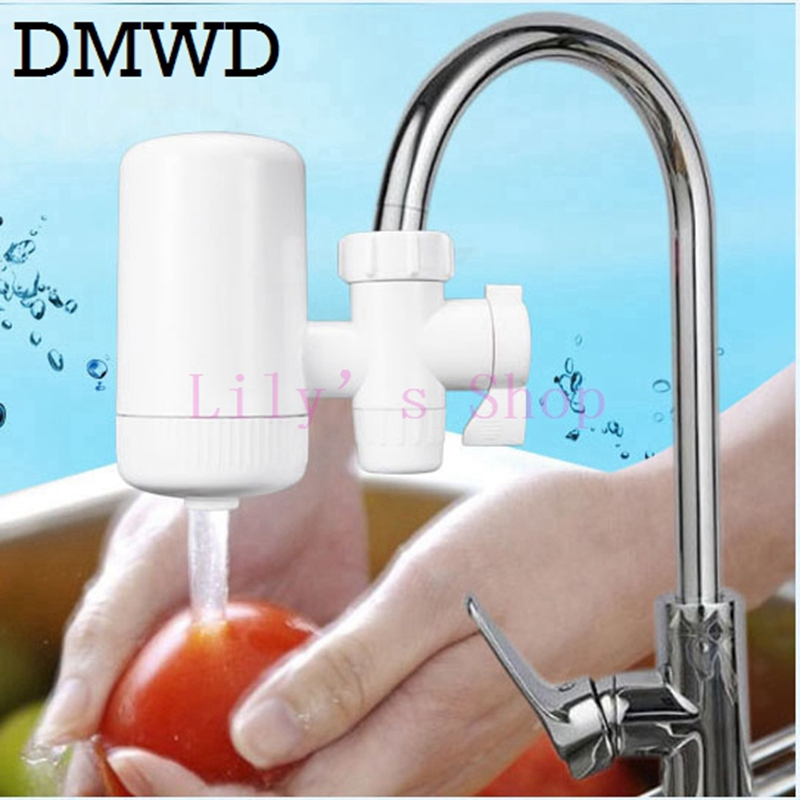 Faucets Water Filter Household Kitchen Health Activated Caucet Tap water filter carbon Ceramic filter Purifier mini purification kitchen faucets tap water filter household water purifier washable ceramic percolator mini water purification