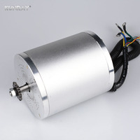 1600W 48V BLDC Brushless Motor High Speed Mid Drive Electric Bike Brushless Motors Escooter Electric Engine Bicycle Kit 25H