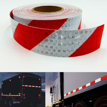 5cmx10m Reflective Safety Stickers Night Driving Waterproof Wide Warning Tape Bicycle Accessories