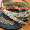 Smd 5630 из светодиодов газа Samsung сеул тирас светодиодов ленты 5 м non-водоустойчивая dc12v, Высокое качество, Бесплатная доставка