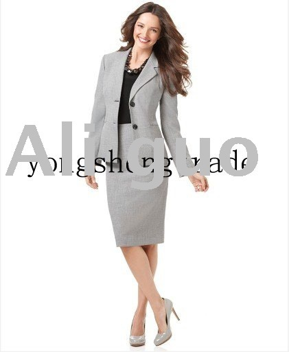 High Quality Women Suit Fashion Women Suit Jacket  Two piece  Brand Women Business Suit  600