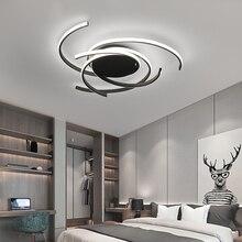 LICAN современные светодиодные потолочные лампы для гостиной Спальня детская комната лампе плафон avize современный светодиодный потолочный светильник