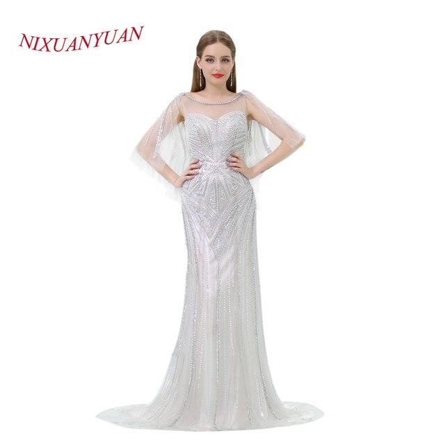 NIXUANYUAN 2018 New Maß Luxury Friesen Prom Kleid 2017 meerjungfrau ...