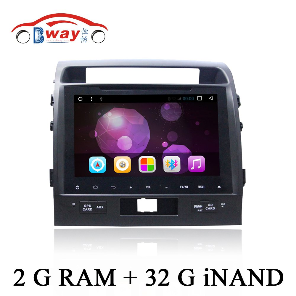 Android 6 0 Car DVD Player GPS Radio For Toyota Land Cruiser LC200 2007 2015