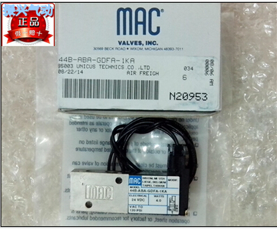 все цены на New and original America MAC solenoid valve 44B-ABA-GDFA-1KA онлайн