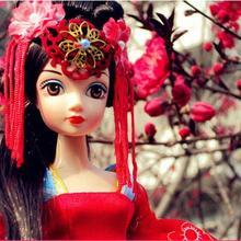 Кукла Kurhn для девочек, игрушки, китайские древние куклы невесты, Династия Тан, игрушки невесты для девочек, подарок для детей, подарок на день рождения