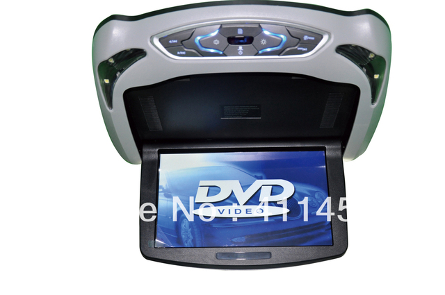 10 inch car flip down player DVD with games