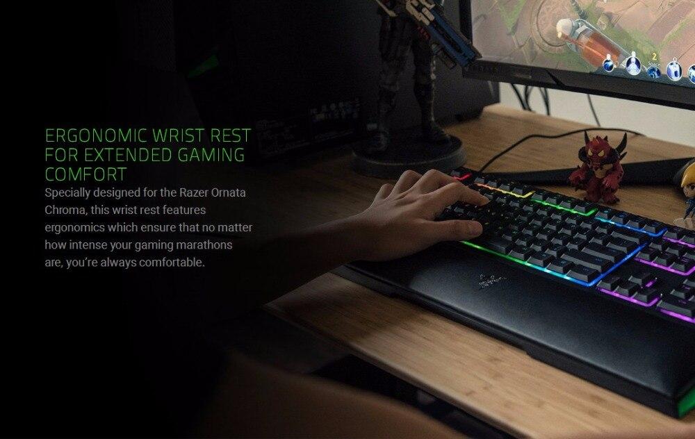 Razer Ornata Chroma Membrane RGB Gaming Keyboard With Individually  Backlight Mid-Height Keycaps Wrist Full-keys Gaming Keyboard