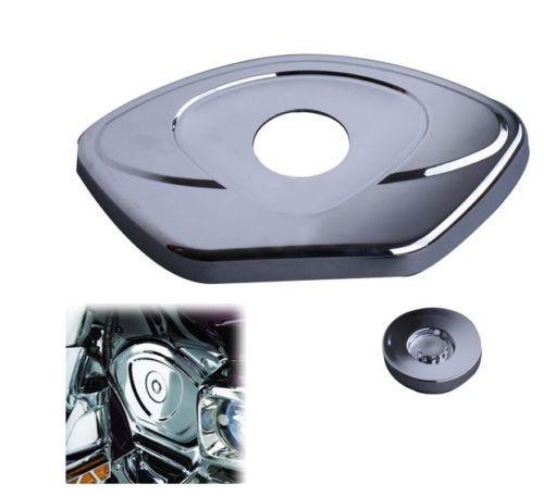 Timing Chain Cover Chrome For Honda GL1800 GOLDWING 2001-2013 F6B 2013-2015 chain timing cover for honda gl1800 goldwing 1800 2001 2013 2002 2003 2004 2005 2006 2007 2008 2009 2010 2011 2012 chrome