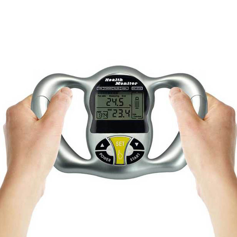 Body Fat Measure Scale Monitor Fat Analyzer Meter Calorie Tracker Health Care Fat Scale Tester BMI Mass Index Calorie Hand Meter